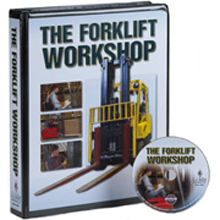 The Forklift Workshop - DVD Training with EyeCue System, English Language
