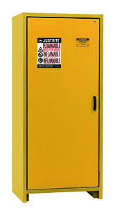 "30-Minute Fire Resistant Safety Storage Cabinet - Single Door, 34""W x 24-1/4""D x 76-5/8""H"