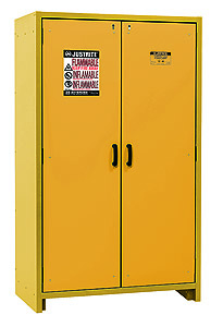 "30-Minute Fire Resistant Safety Storage Cabinet - Double Door, 45""W x 24-1/4""D x 76-5/8""H"