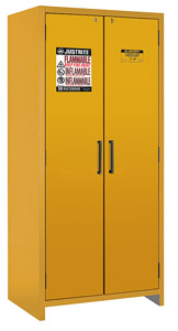 "90-Minute Fire Resistant Safety Storage Cabinet - Double Door, 35-1/8""W x 24-1/4""D x 76-5/8""H"
