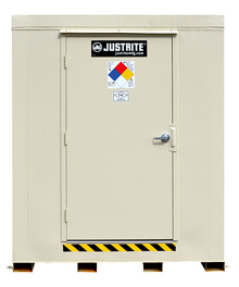 "2-Hour Fire Rated Explosion Relief Outdoor Safety Locker - 2 Drum Cap., 71""W x 42""D x 75""H"