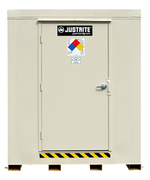 "2-Hour Fire Rated Outdoor Safety Locker - 12 Drum Capacity, 88""W x 119""D x 99""H"
