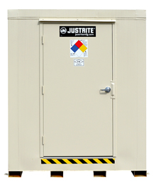 "2-Hour Fire Rated Explosion Relief Outdoor Safety Locker - 12 Drum Cap., 88""W x 119""D x 97""H"