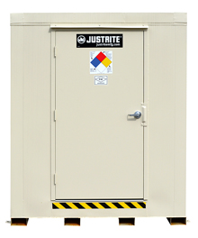 "4-Hour Fire Rated Outdoor Safety Locker - 2 Drum Capacity, 71""W x 42""D x 75""H"
