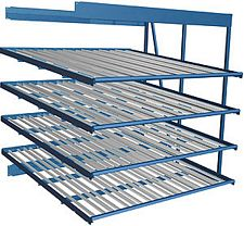 "Carton Flow Rack Adder - 96""w x 48""d x 96""h"