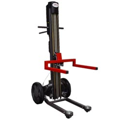 "Mobile Stacker & Work Positioner, 14"" Chassis 48"" Lift Height"
