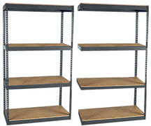 RiveTier Shelving With Decks, Standard Duty
