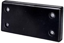 "Molded Rubber Bumper - 3""x12""x24"""