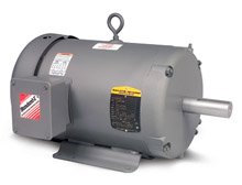 Motor - 1 HP, 208-230/460 - 1,800 RPM, TEFC, FT-MTD, 56 NEMA Frame, 12-in. C Dim.
