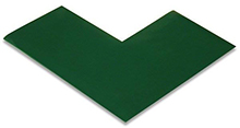 Floor Tape - Angle, Green, 6-in. x 6-in. x 3-in., Box of 100