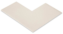 Floor Tape - Angle, White, 6-in. x 6-in. x 3-in., Box of 100