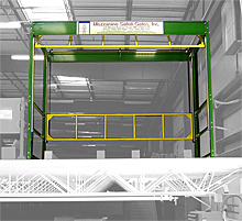 Mezzanine Safety Gates