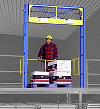 Tri-Side Safety Gate - Single Wide OSHA, 60