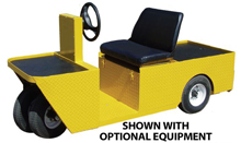2-Person Maintenance Vehicle - 36 Volt, 7.5 hp., 1,200 lb. Load/2,000 lb. Tow Capacity