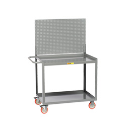 "Portable Workstation - 24"" x 48"" - Pegboard Panel"