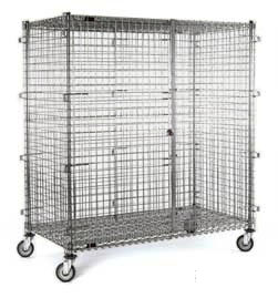 "Mobile Security Cage - 63-1/4""w x 27-1/4""d x 69""h"