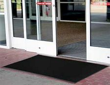 Heavy Duty Multi-Guard Black Mat: 1/2in x 3ft x 5ft