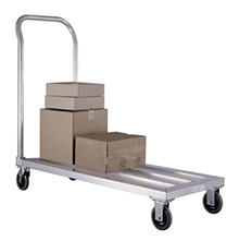 "Mobile Dunnage Rack with Handle - 31-3/4""W x 20""D x 42""H, 1000 lb. capacity"