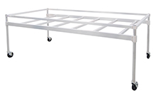 Aluminum Hydroponics Table for Cannabis - 8'W x 4'D
