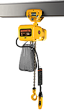 Electric Chain Hoist with Push Trolley