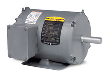Motor - .5 HP, 230/460/3 - 1,200 RPM, TENV, FT-MTD, 56 NEMA Frame, 12.06-in. C Dim.