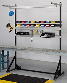 Over-Conveyor Assembly Stand, 64w x 72h