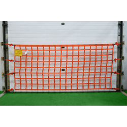 Loading Dock Safety Net - Wall Mounted - 4' H, 6'-32' L