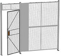 One Wall Wire Partition