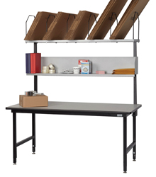 Basic Packing Bench, 68w x 33d x 29 to 36h