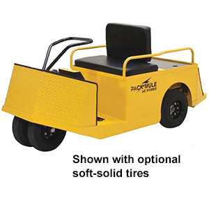 2-Person Personnel Carrier - 24 Volt, 9.6 HP, 750 lb. Load Capacity