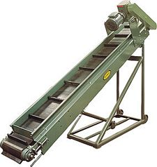 "Portable Parts Conveyor, Model PC - 12"" OAW, 5' long"