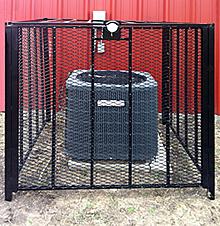 Hvac Protection Cage 36 Quot X 36 Quot Bolt Down