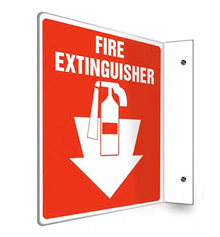 Projecting Emergency Signs