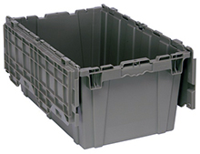 "Attached Top Container - 2.5 Cu. Ft. Volume - 27-5/16""L x 16-9/16""W x 12-1/2""H"
