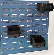 "Conductive Louvered Panel - 27""W x 21""H Louvered Panel"