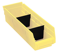 Dividers for Model No. QSB 103 Shelf Bin - Carton of 50