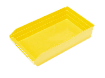 "Shelf Bins - 17-7/8""L x 11-1/8""W x 4""H, Carton of 8"