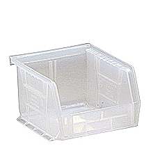 "Clear View Bins, 24 - 5"" x 4-1/8"" x 3"""