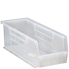 "Clear View Bins, 12 - 14-3/4"" x 5-1/2"" x 5"""