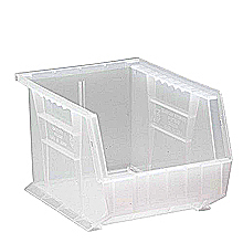 "Clear View Bins, 6 - 10-3/4"" x 8-1/4"" x 7"""