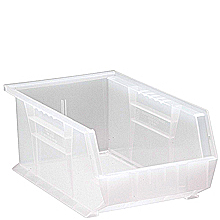"Clear View Bins, 12 - 13-5/8"" x 8-1/4"" x 6"""