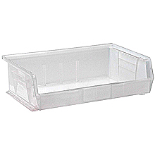 "Clear View Bins, 6 - 10-7/8"" x 16-1/2"" x 5"""