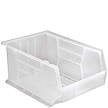 "Clear View Bins, 4 - 16"" x 11"" x 8"""