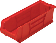 "Jumbo Stackable Containers - 23-7/8""D x 8-1/4""W x 7""H, Carton of 6"