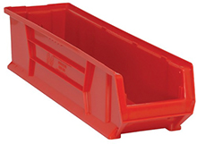 "Jumbo Stackable Containers - 29-7/8""D x 8-1/4""W x 7""H, Carton of 6"