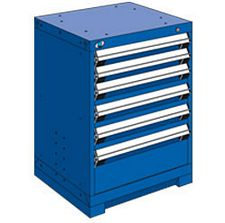 "Heavy Duty Modular Drawer Cabinet - 24""W x 21""D x 32""H, with 6 Drawers"