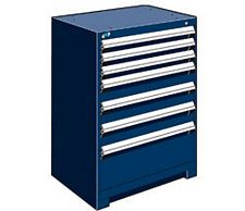 "Heavy Duty Modular Drawer Cabinet - 30""W x 21""D x 40""H, with 7 Drawers"