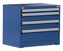 "Heavy Duty Modular Drawer Cabinet - 36""W x 18""D x 30""H, with 4 Drawers"