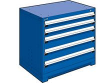 "Heavy Duty Modular Drawer Cabinet - 36""W x 24""D x 32""H, with 5 Drawers"