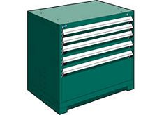 "Heavy Duty Modular Drawer Cabinet - 36""W x 18""D x 32""H, with 5 Drawers"